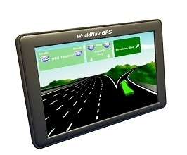 "NEW! WorldNav 7690 Truck GPS 7"" Screen"