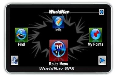 """WorldNav 4100 Truck Routing 4"""" GPS  Reg. $199 - NEW Maps"""