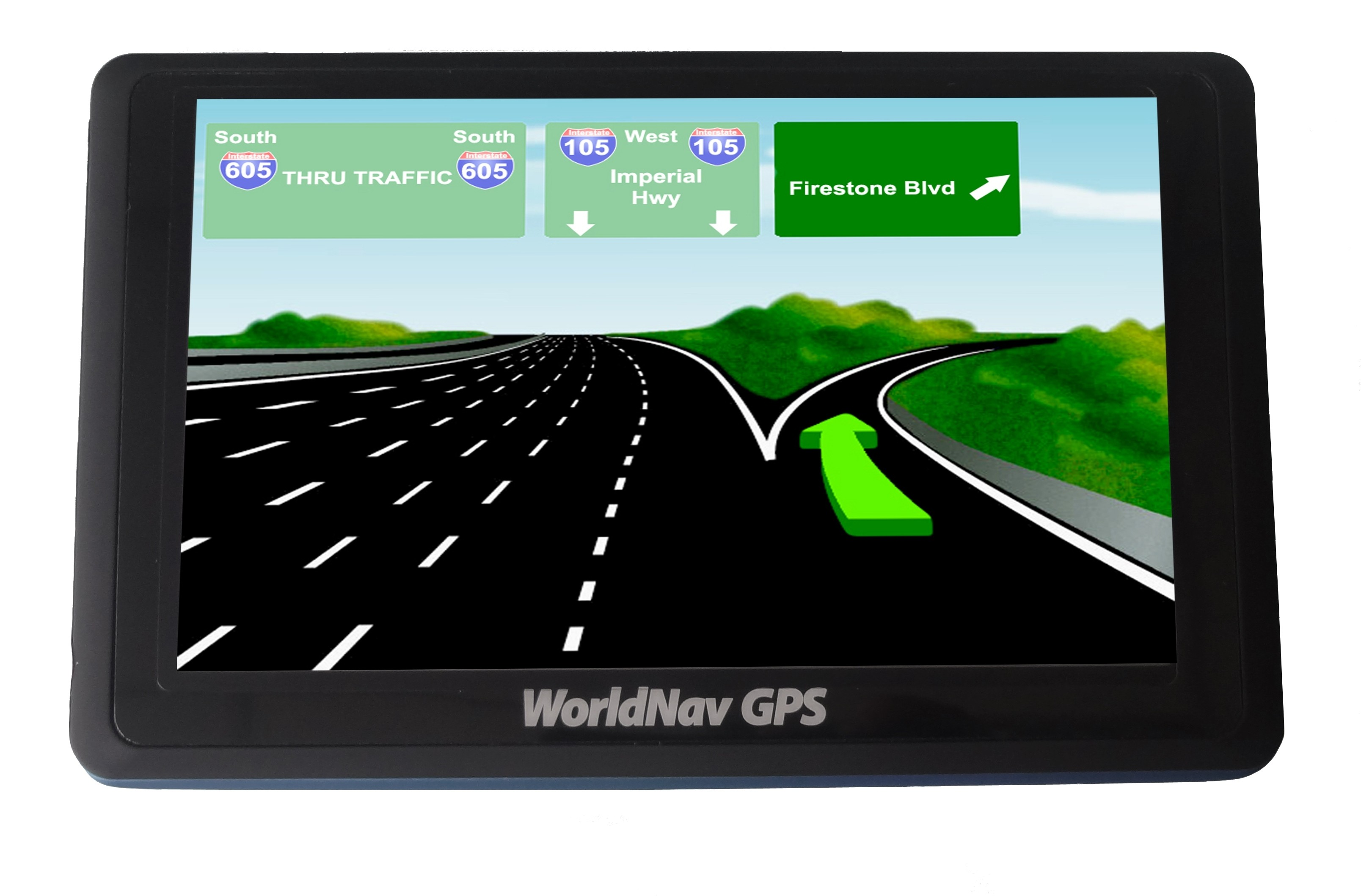 "WorldNav 5"" Truck GPS - 5880 Refurbished (1 year warranty!) - Holiday Special!"