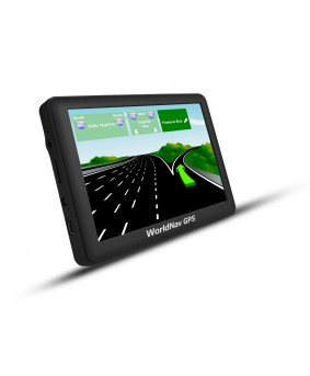 "WorldNav 5880 - High Resolution 5"" Truck GPS - NEW"